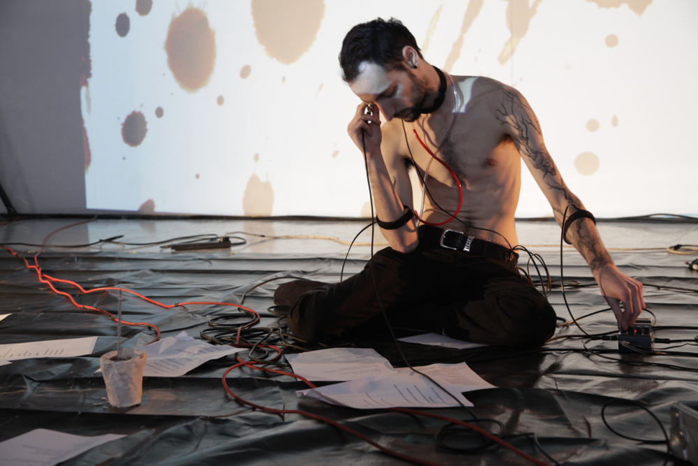 Marco Donnarumma - Moving Forest Durational Performance Art Sound Art