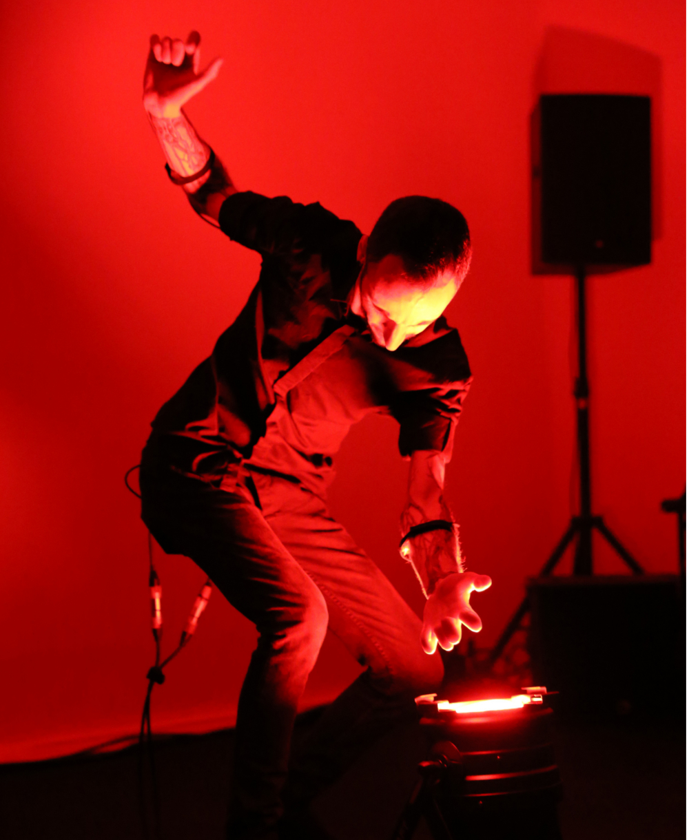 Marco Donnarumma Sound Art Performance and Technology